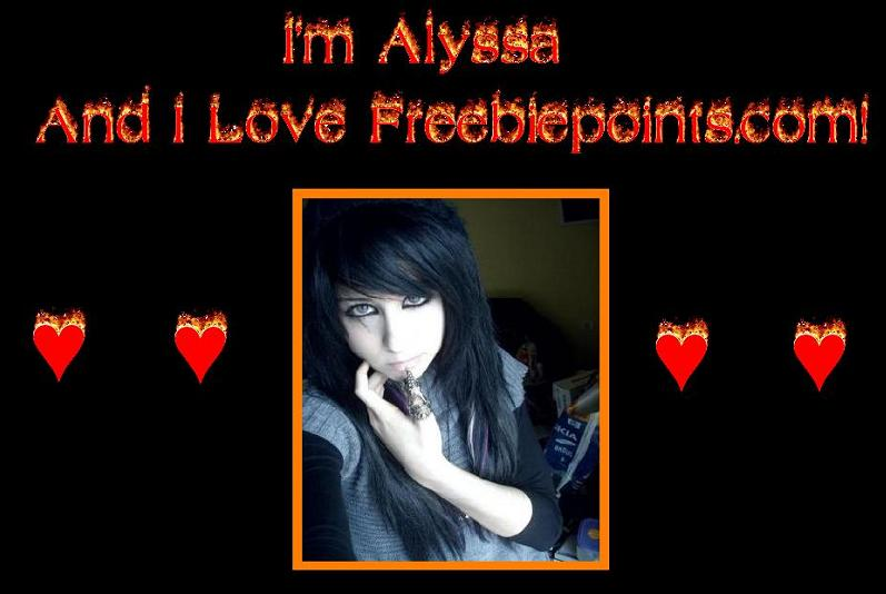 Alyssa is a fan of freebiepoints!